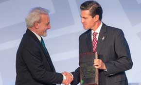 President Hon. Dr. Nairizi with Mexican President
